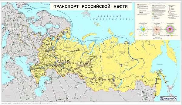 Транспорт российской нефти